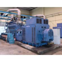 4000kw Negro Inicio Generador Diesel Power Plant