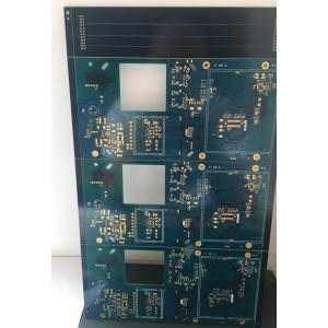 6 layer FR4(TG170) blue ENIG PCB