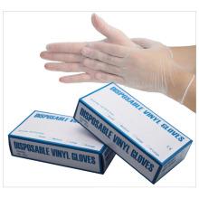 Disposable PVC Gloves Powder-Free Transparent Color Vinyl Food Grade Vinyl Gloves