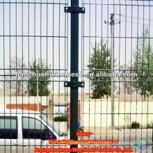 Verde de acero al carbono de baja de alambre de inmersión de recubrimiento de protección valla de alambre de carretera