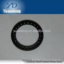 Custom CNC Anodized Black Aluminium Washers