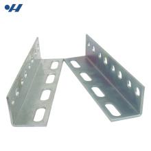 Высокая прочность щелевой оцинкованный стальной равнополочный размеры