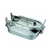 Sanitary Stainless Steel Rectangle Manhole