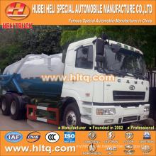 CAMC 6x4 20000L Vakuum-Abwassersauger mit Vakuumpumpe WEICHAI Dieselmotor WP10.270N 270hp