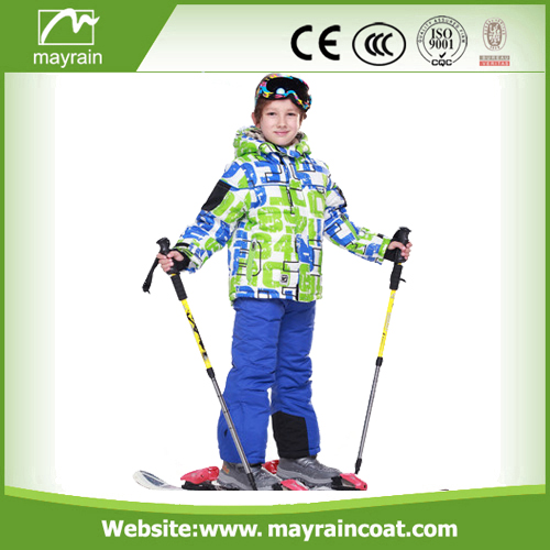 Polyester Coated Children Rainsuits