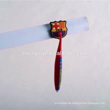Kaninchen Form benutzerdefinierte weich PVC-Stift mit Hut für Kinder Werbung