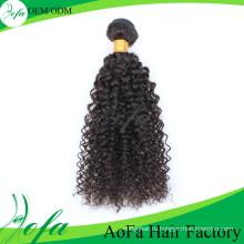 Прекрасный микро-цикла девственница афро человеческих волос для чернокожих человека