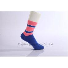 Herbst und Winter Dame Cotton Socken Frauen Crew Baumwollsocken für Großhandel