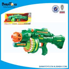 Brinquedos elétricos plásticos da arma da bala macia para miúdos