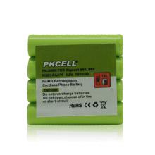 Batería del teléfono inalámbrico 4.8V, 700mAh NiMH Paquetes de batería para Interphone