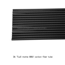 Epoxy resin carbon fiber tube 3k woven