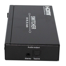 Hotsale 4X1 HDMI Switcher 1.4V with Audio Output