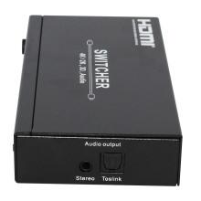 Hotsale 4X1 HDMI Switcher 1.4V con salida de audio