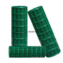 PVC recubierto de malla de alambre soldado con autógena
