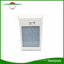 400lm 24 LED de luz de calle de energía solar PIR sensor de movimiento luz de la lámpara de seguridad del jardín calle al aire libre luces de pared a prueba de agua