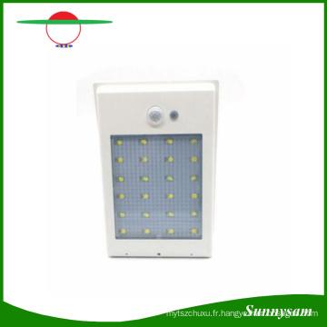 400lm 24 LED Solaire Puissance Réverbère PIR Motion Sensor Lumière Jardin Lampe de Sécurité En Plein Air Rue Étanche Mur Lumières