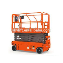 Self propelled electric fast shipment hydraulic drywall lift