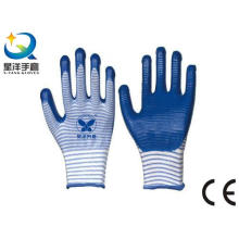 Natrile Coated Glove Labor Protective Safety Work Gloves (N6026)