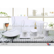 elegant luxurious consumption goods 2014 new ceramic china products turkish porcelain dinner set