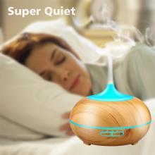 Wood Ultrasonic Spray Spa Mist Diffuser