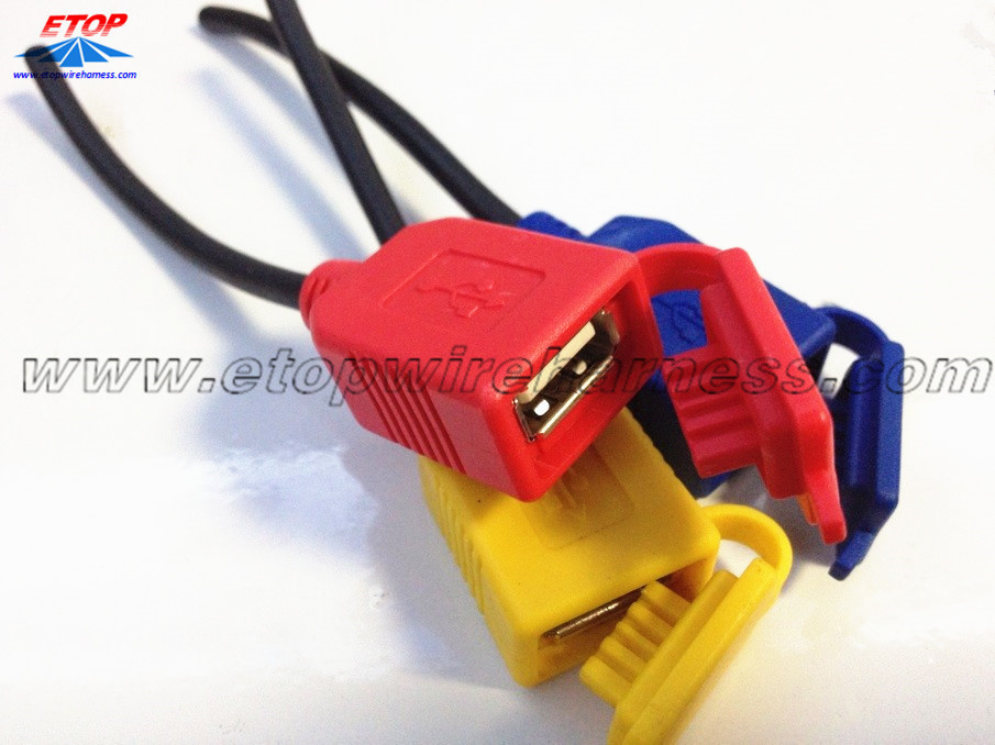 USB Female With Cap