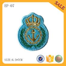 EP-07 China El remiendo de encargo del remiendo del remiendo de la bandera remienda el remiendo de la ropa con la insignia