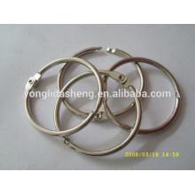 Anillo caliente del o del metal de la venta y gancho y lazo elegantes con precio barato