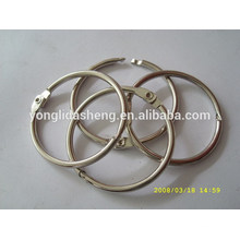 hot selling metal o ring and elegant hook and loop with cheap price