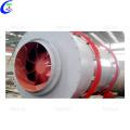 Secador de tambor rotativo de areia de silicone