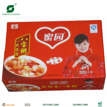 Color Printing Cardboard Food Box