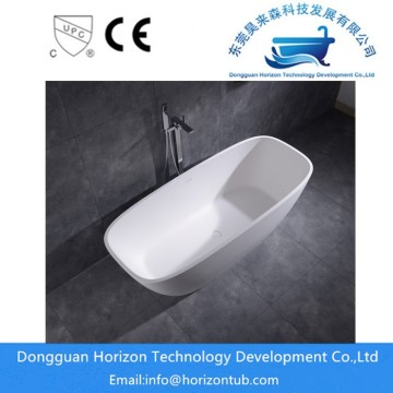 Solid surface freestanding tubs