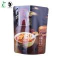 Nuts Food Bag in guter Barriere mit wiederverschließbarem Reißverschluss und Customerize-Druck