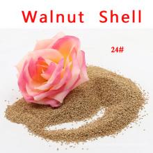 Natürliche Walnuss-Shell-Filtermedien für fettige Abwasserbehandlung