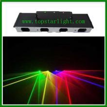 Guangzhou Laser cahaya empat Ketua Rgby menunjukkan sistem Laser