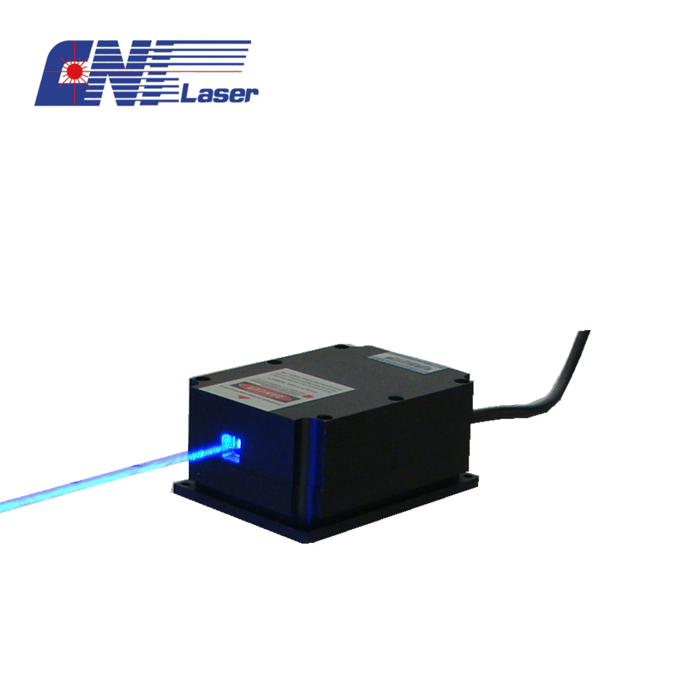 Laser azul do diodo do oem de 4W 447nm