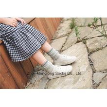 Thick Thread invierno algodón calcetines estilo retro chica dulce calcetines de algodón