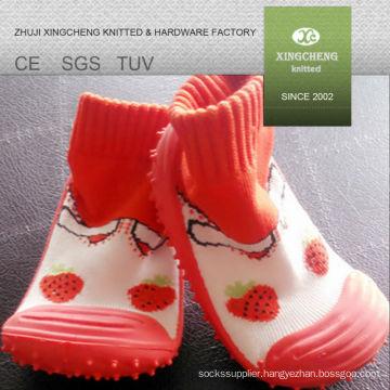 6 XC 701 non slip socks knit sock boots slipper socks