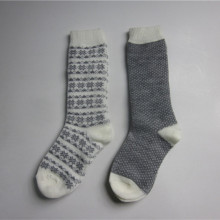 Full Snow Jacquard Strick Socken