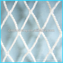 HMWPE fibres blanches sans noeuds grands filets de pêche