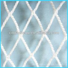 Большие рыболовные сети HMWPE из белого волокна без узлов