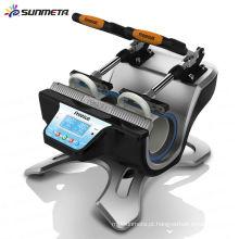 Máquina de imprensa da caneca da Estação-dupla-chegada de Sunmeta 2015 nova para fazer canecas
