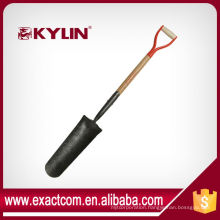 Function Of Forged Spade Head Drain Spade With Forged Solid Back