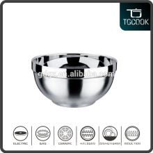 Tableware Hot-prevent Stainless Steel Double Wall Serving Bowl/Metal Bowl/