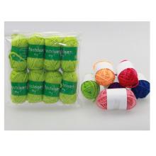 Fils à tricoter à la main pour le bricolage