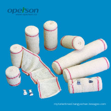 Ce Approved Elastic Crepe Bandage with Various Sizes