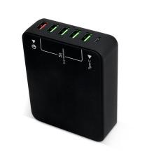60 W USB-C-Ladegerät Multi-USB-Ladegerät