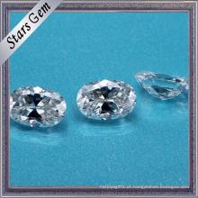 Fornecedor de China Oval Cut Syntheitc Moissanite Diamond
