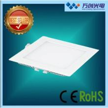 led ceiling lamps 6W LED square panel downlight 2013 hot sell