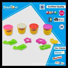 Новые рождественские горячие игрушки сбываний устанавливают diy цвет пластилин