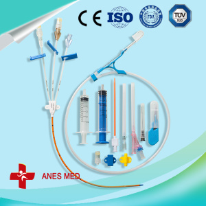 Triple Lumen antimicrobial central venous catheter kit